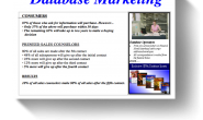 Make Use Of Your Marketing Database to Integrate and Act upon Enhancement Data